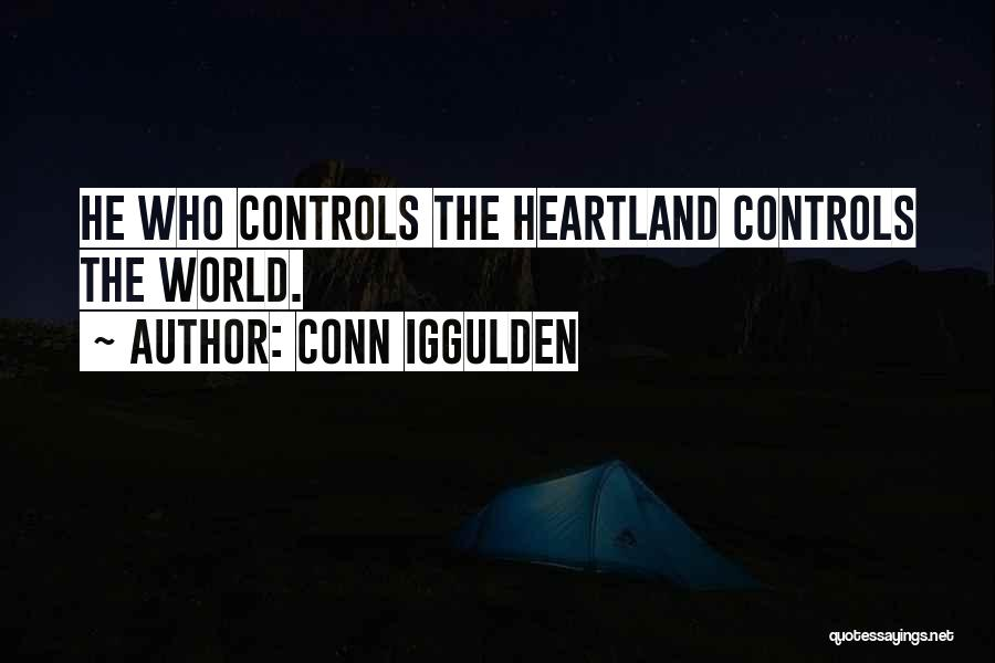 Best Heartland Quotes By Conn Iggulden