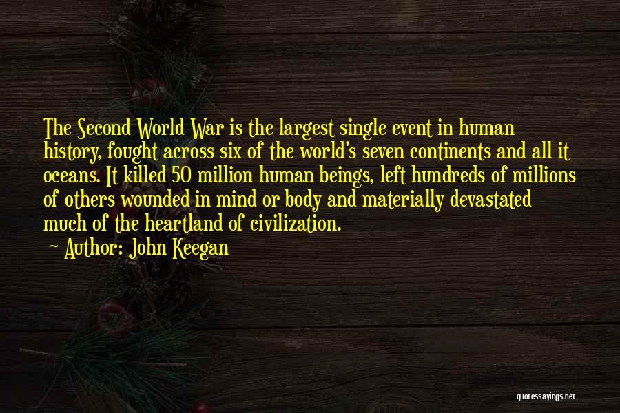 Best Heartland Quotes By John Keegan