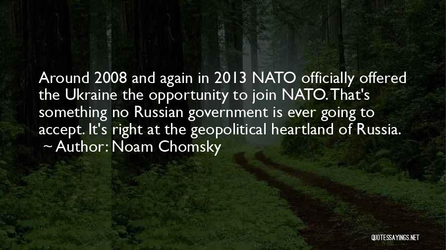 Best Heartland Quotes By Noam Chomsky