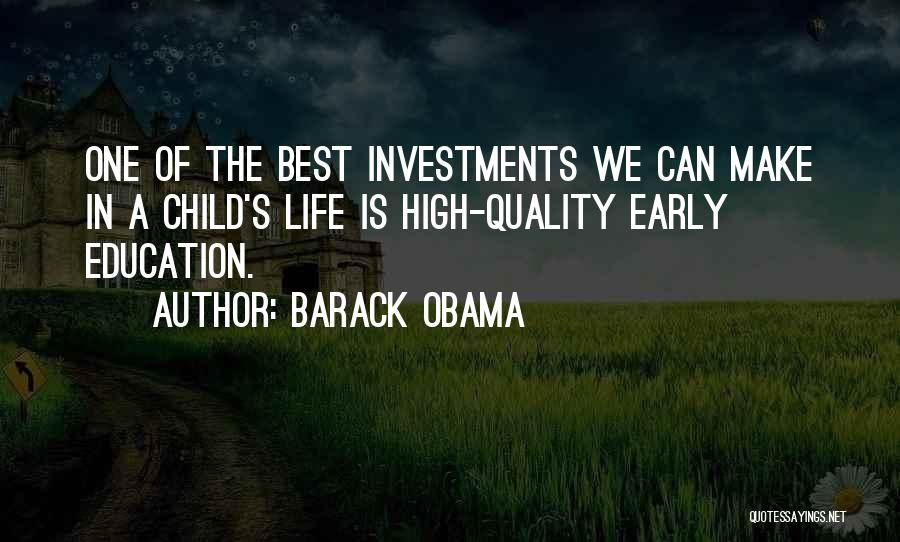 Best High Life Quotes By Barack Obama