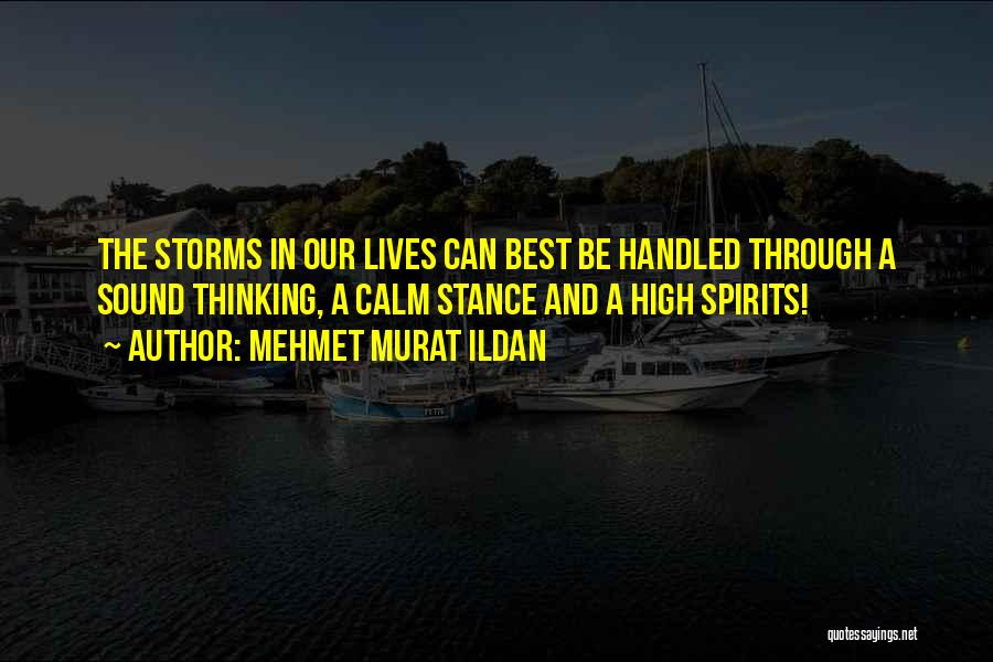 Best High Life Quotes By Mehmet Murat Ildan