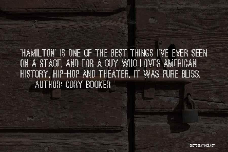 Best Hip Hop Quotes By Cory Booker