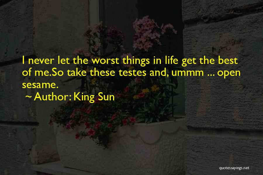 Best Hip Hop Quotes By King Sun