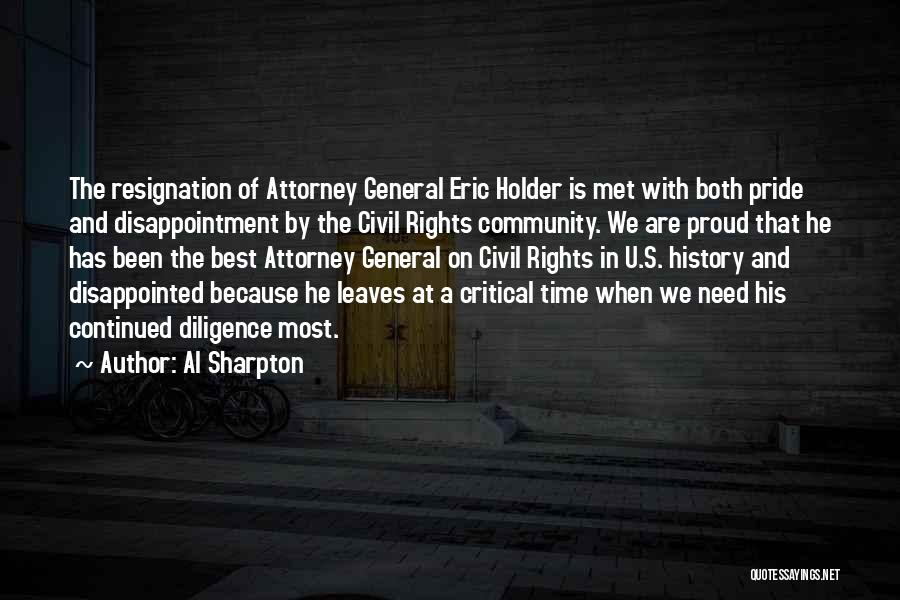 Best Holder Quotes By Al Sharpton