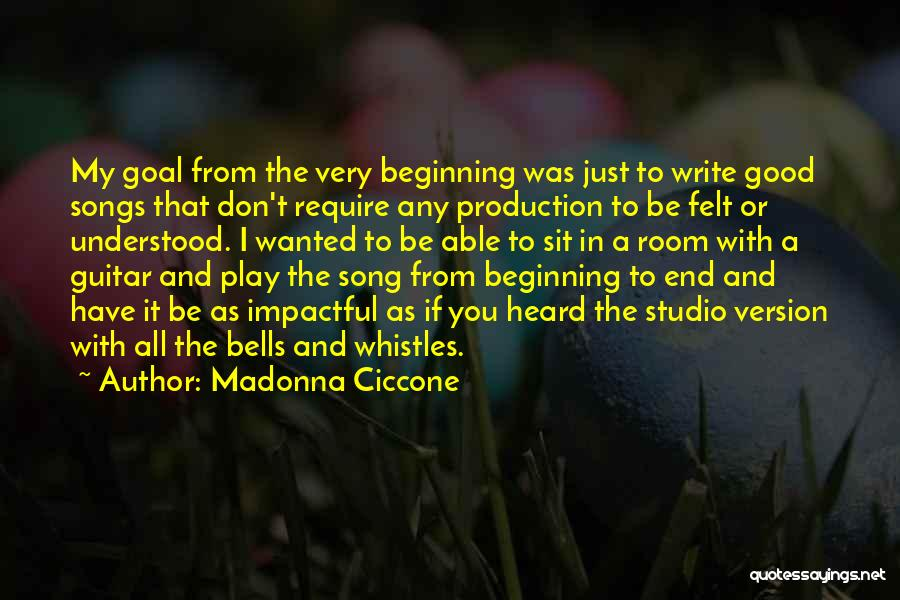 Best Impactful Quotes By Madonna Ciccone