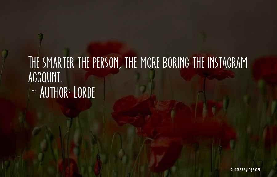Best Instagram For Quotes By Lorde