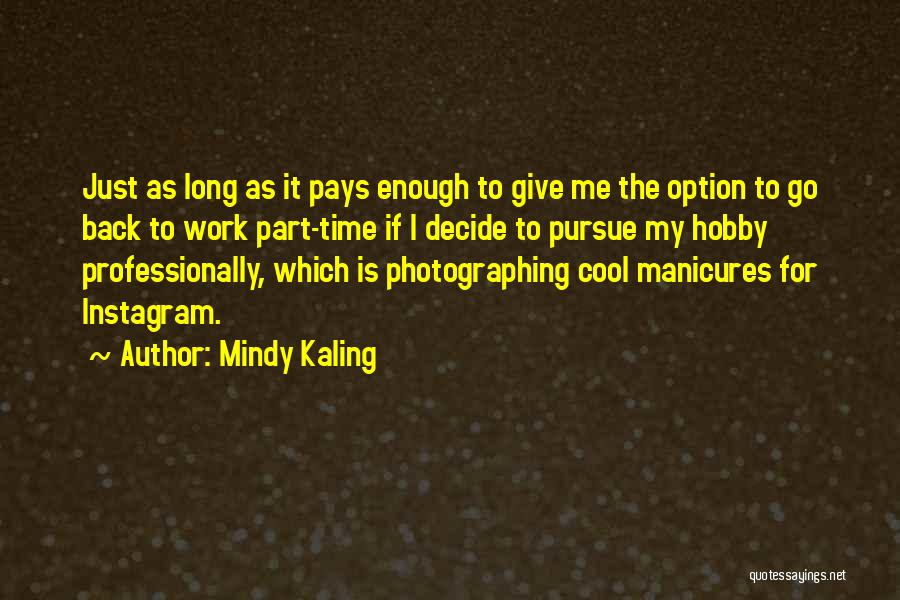 Best Instagram For Quotes By Mindy Kaling