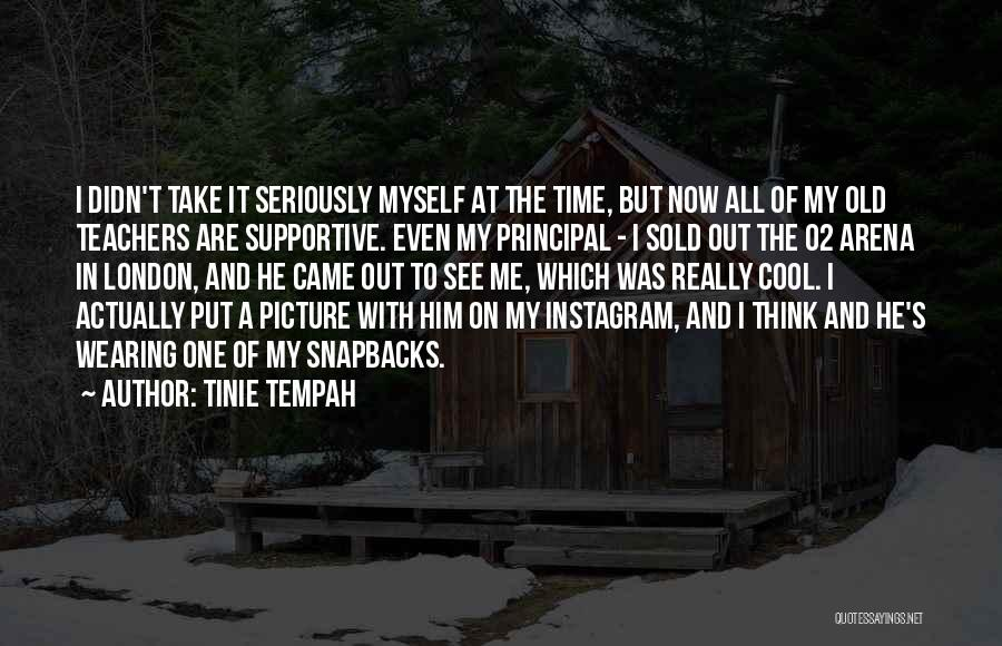 Best Instagram For Quotes By Tinie Tempah