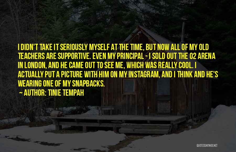 Best Instagram Quotes By Tinie Tempah