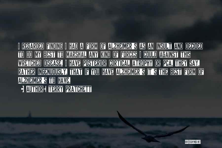 Best Insult Quotes By Terry Pratchett