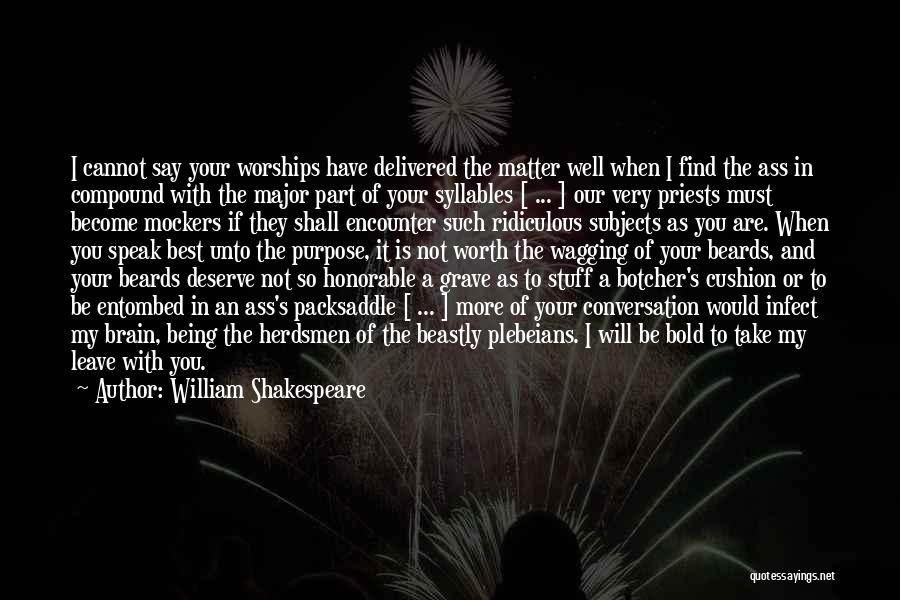 Best Insult Quotes By William Shakespeare
