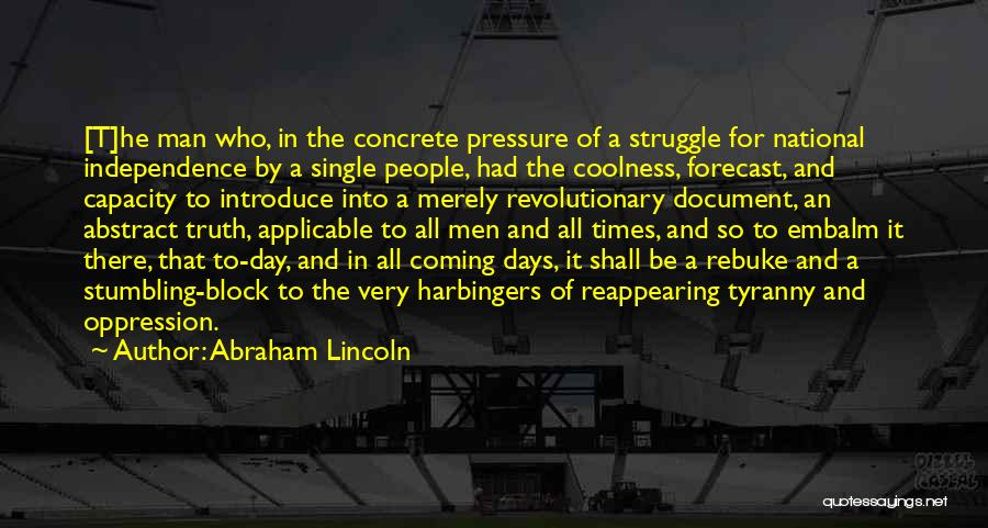 Best Introduce Quotes By Abraham Lincoln