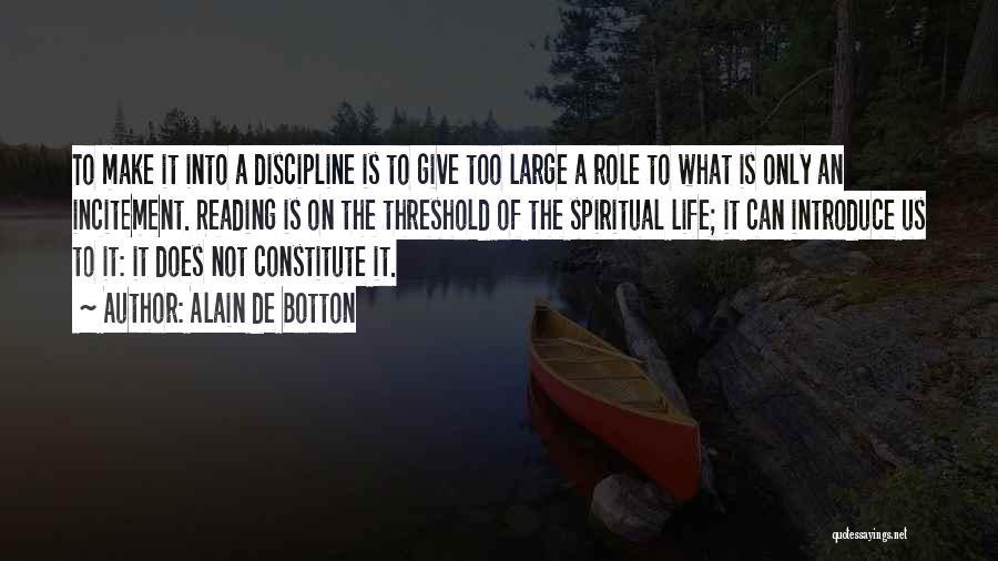 Best Introduce Quotes By Alain De Botton