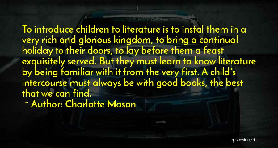 Best Introduce Quotes By Charlotte Mason