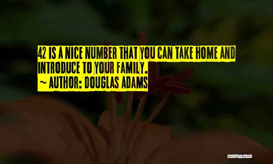 Best Introduce Quotes By Douglas Adams
