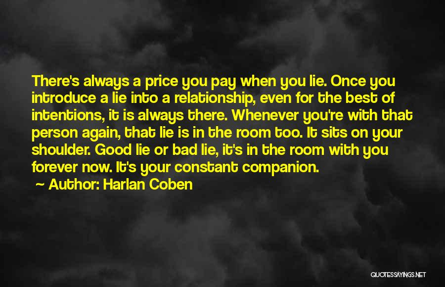 Best Introduce Quotes By Harlan Coben