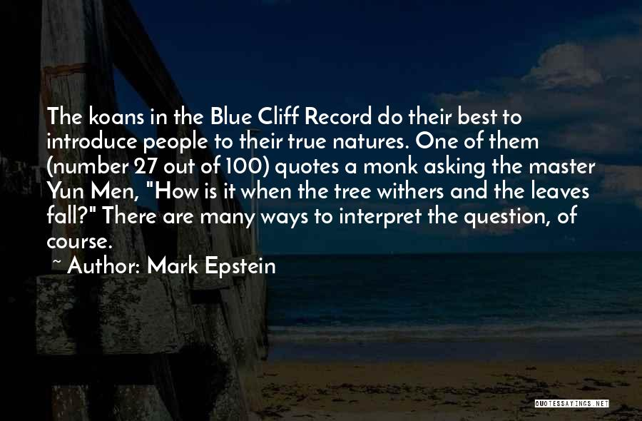 Best Introduce Quotes By Mark Epstein