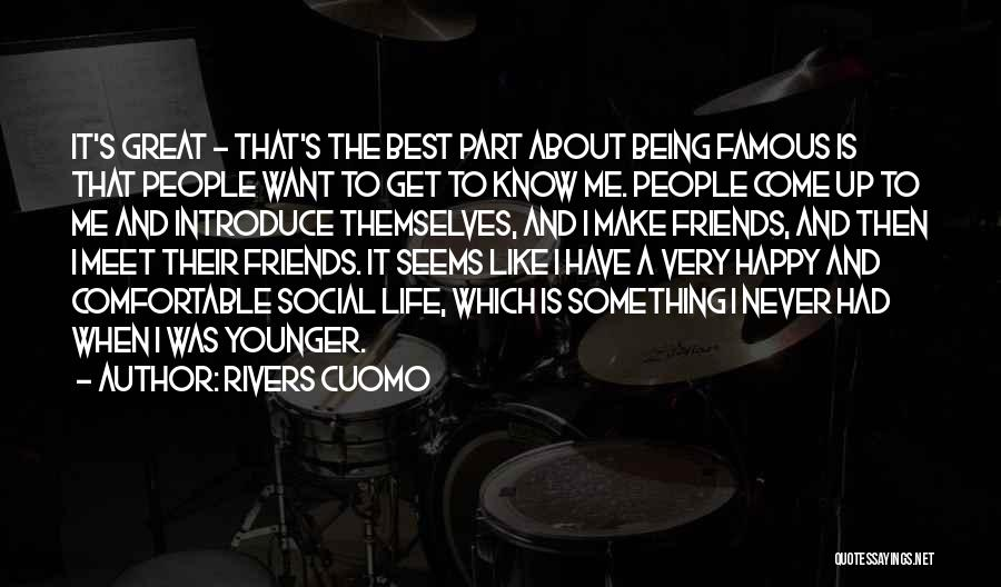 Best Introduce Quotes By Rivers Cuomo