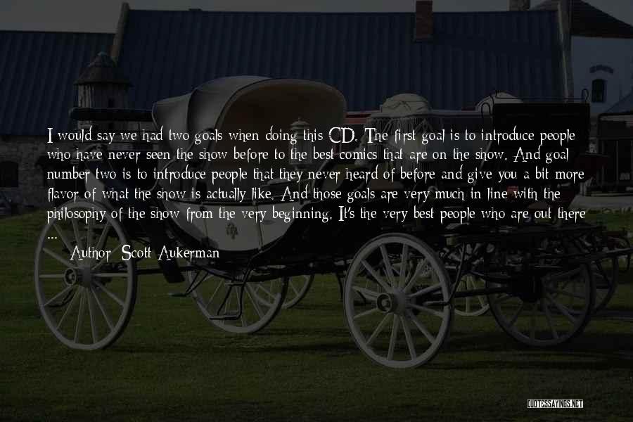 Best Introduce Quotes By Scott Aukerman