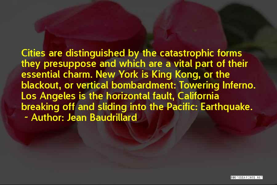 Best King Los Quotes By Jean Baudrillard
