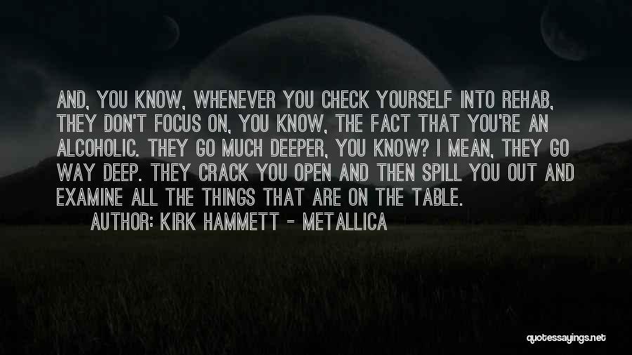 Best Kirk Hammett Quotes By Kirk Hammett - Metallica