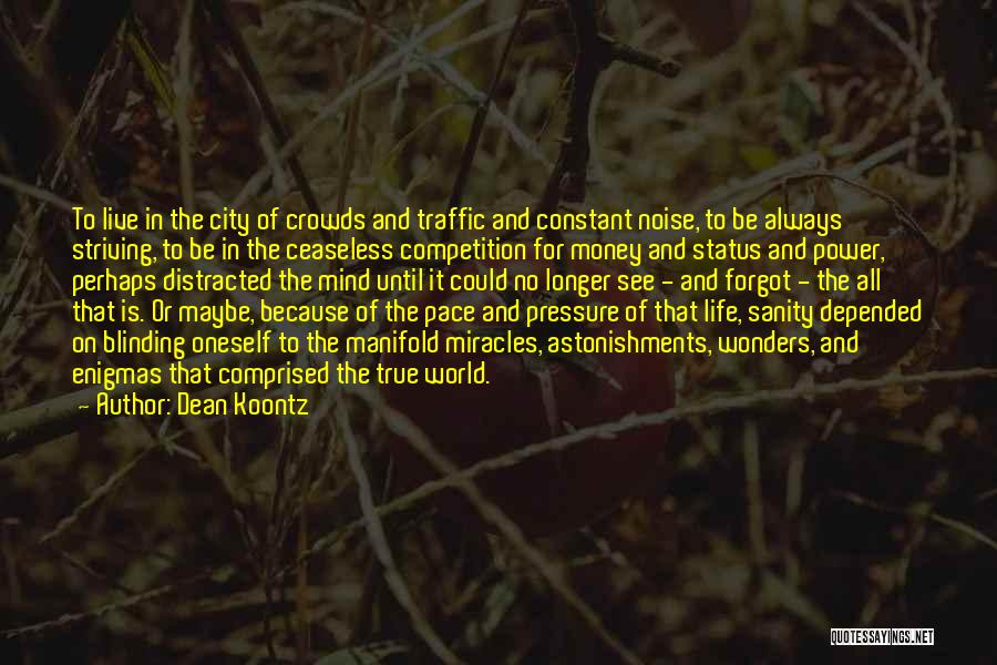 Best Life Status And Quotes By Dean Koontz