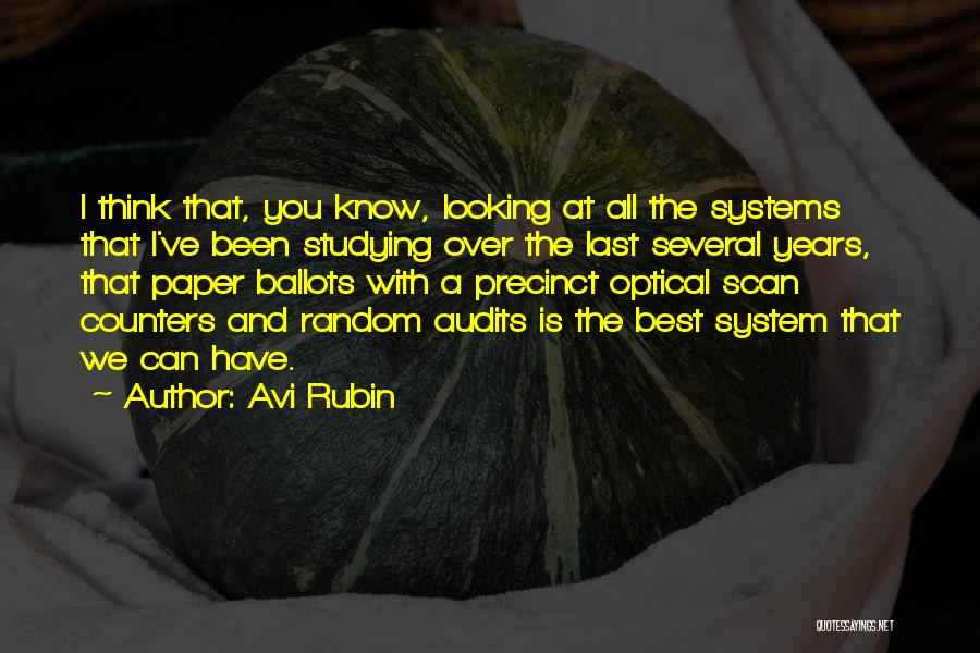 Best Looking Quotes By Avi Rubin