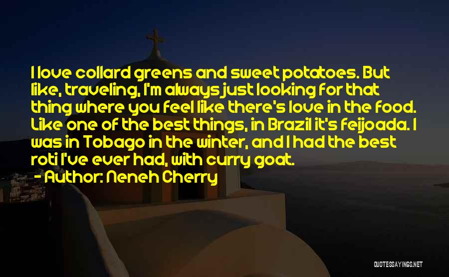 Best Looking Quotes By Neneh Cherry