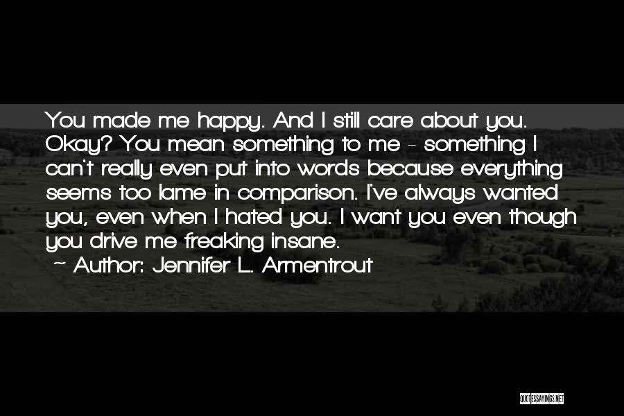 Best Love Confession Quotes By Jennifer L. Armentrout