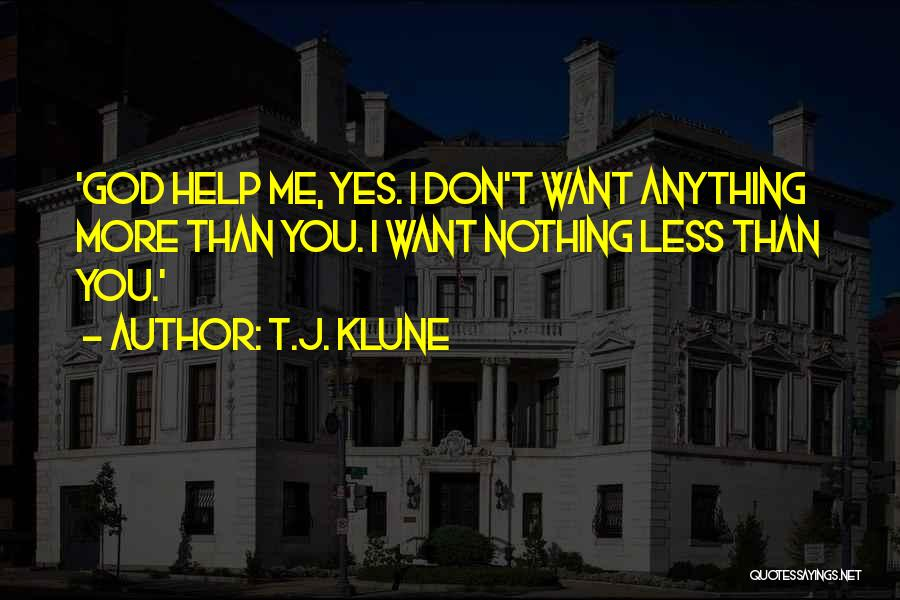 Best Love Confession Quotes By T.J. Klune