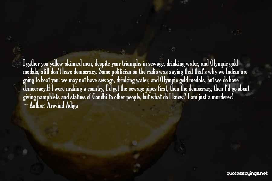 Best Making A Murderer Quotes By Aravind Adiga