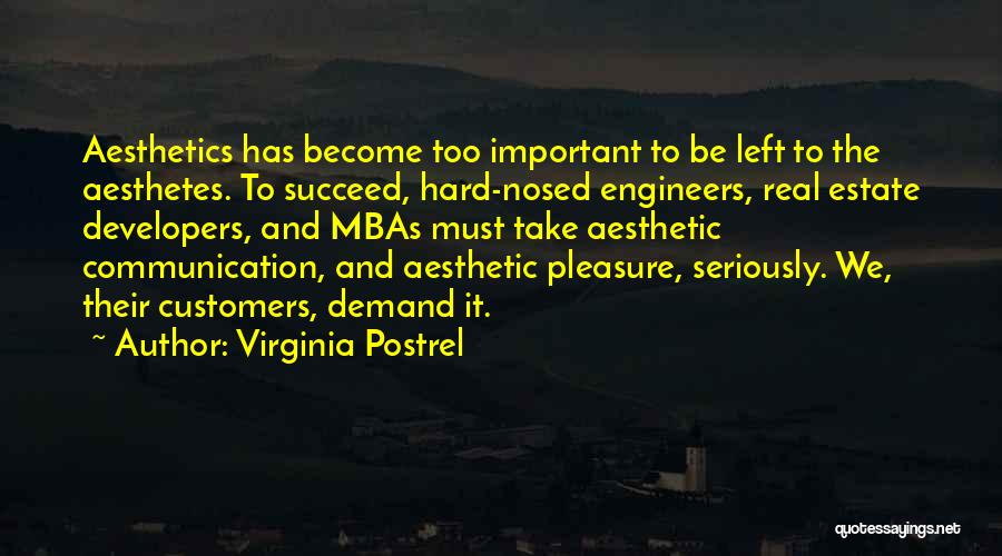 Best Mba Quotes By Virginia Postrel