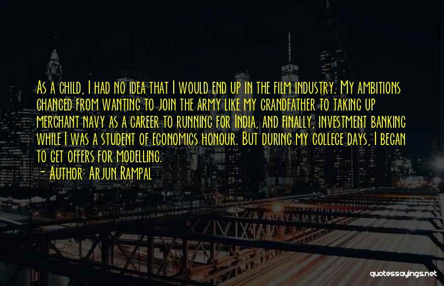 Best Merchant Navy Quotes By Arjun Rampal