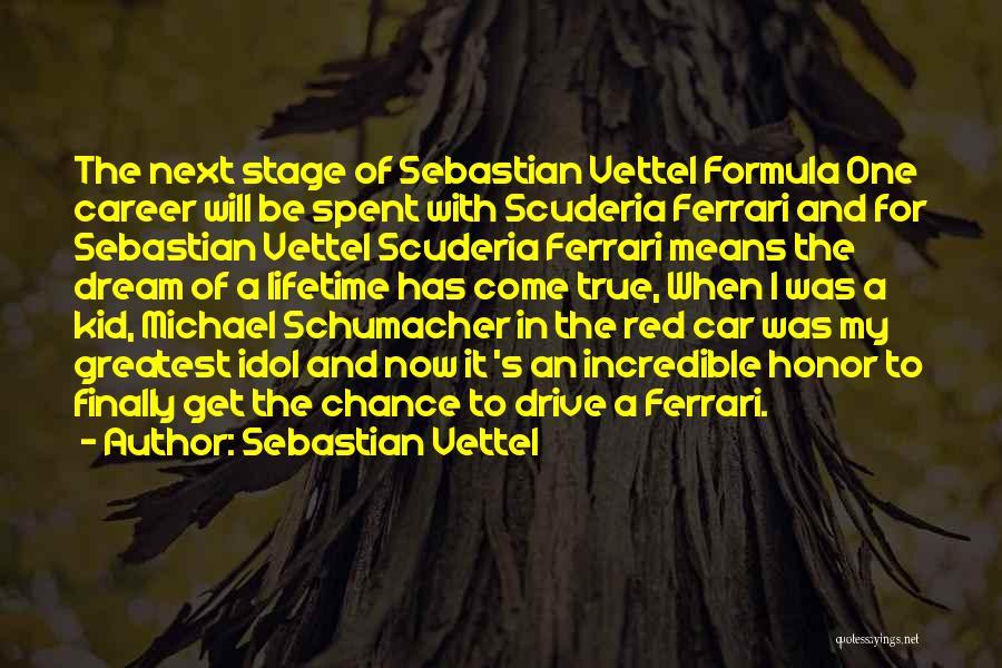 Best Michael Schumacher Quotes By Sebastian Vettel