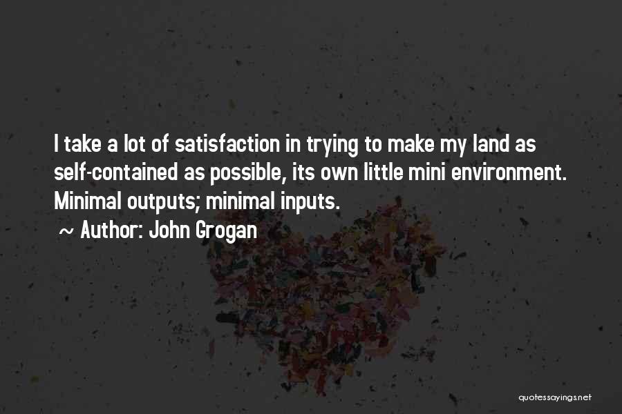 Best Mini Quotes By John Grogan