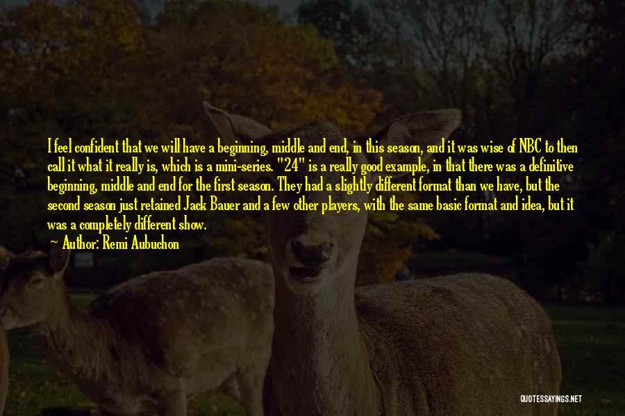 Best Mini Quotes By Remi Aubuchon