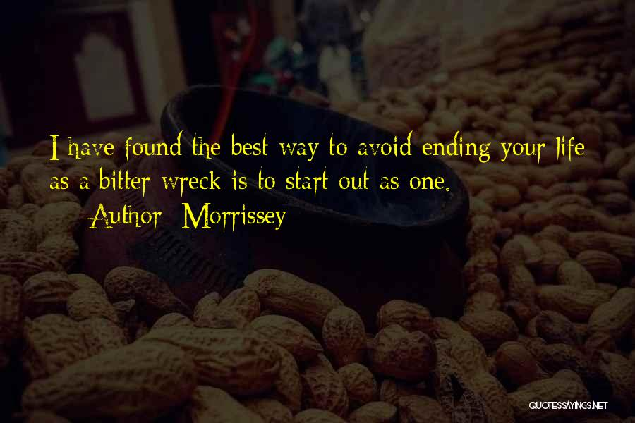 Best Morrissey Quotes By Morrissey