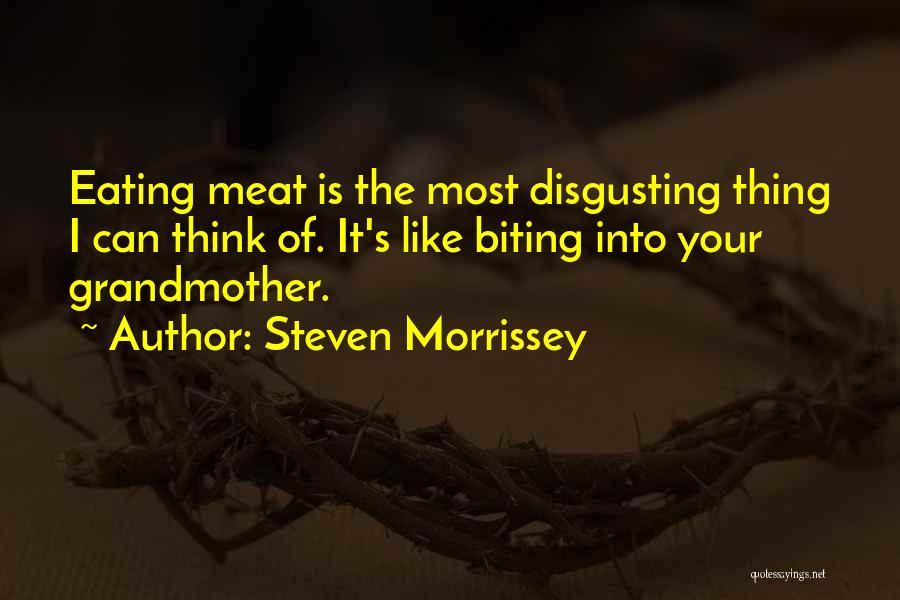 Best Morrissey Quotes By Steven Morrissey