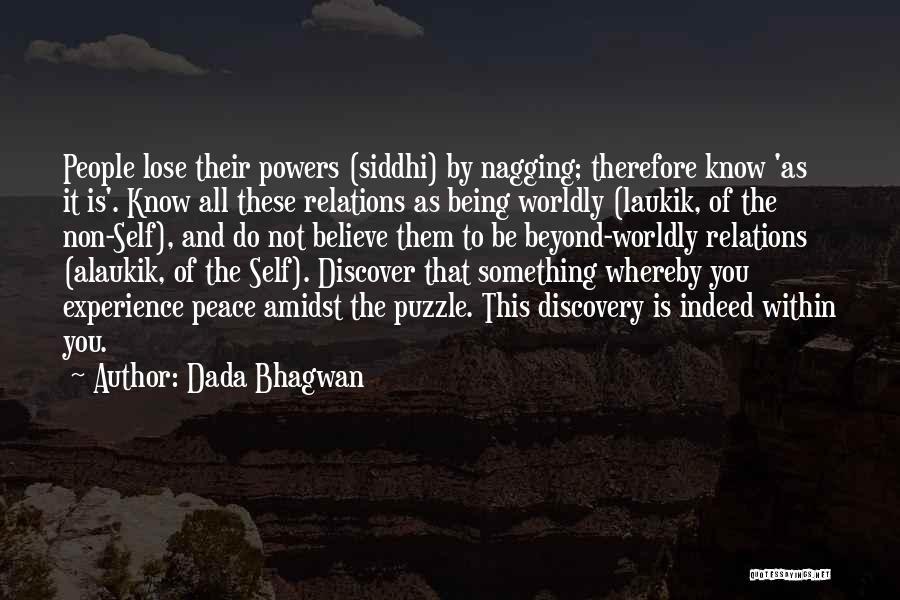 Best Nagging Quotes By Dada Bhagwan