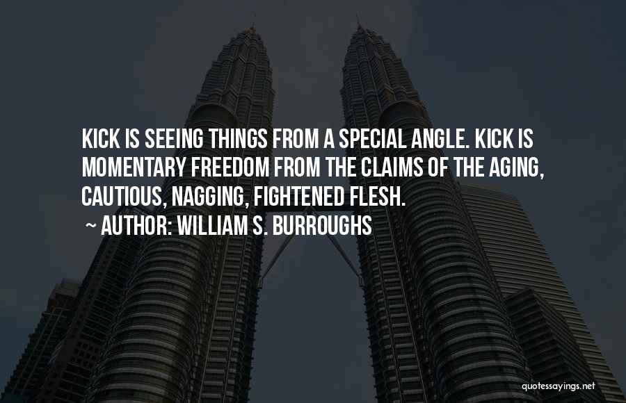 Best Nagging Quotes By William S. Burroughs