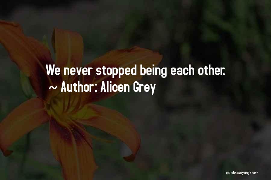 Best Namaste Quotes By Alicen Grey