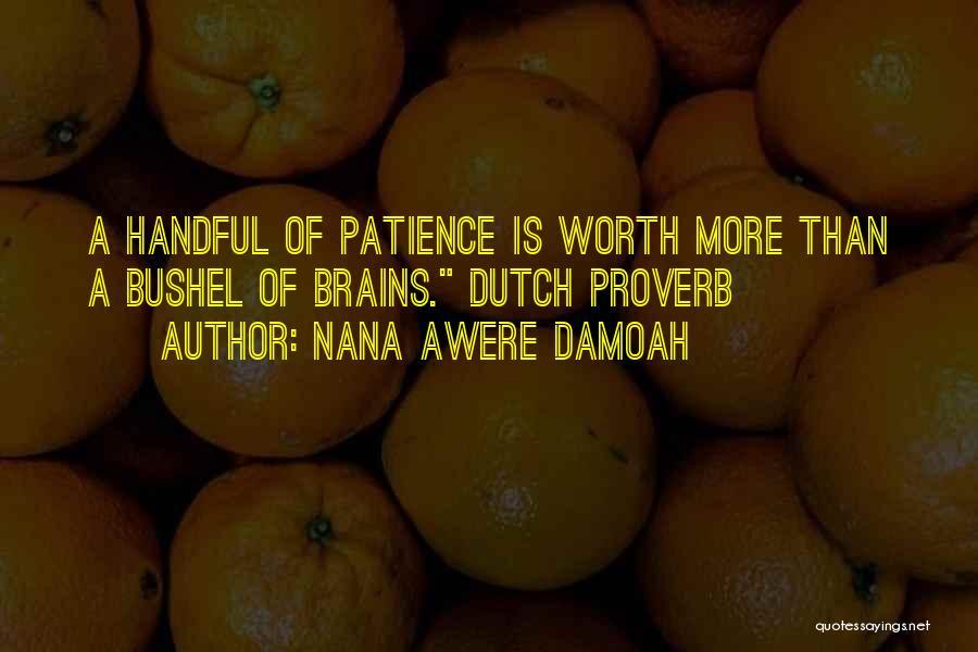 Best Nana Quotes By Nana Awere Damoah