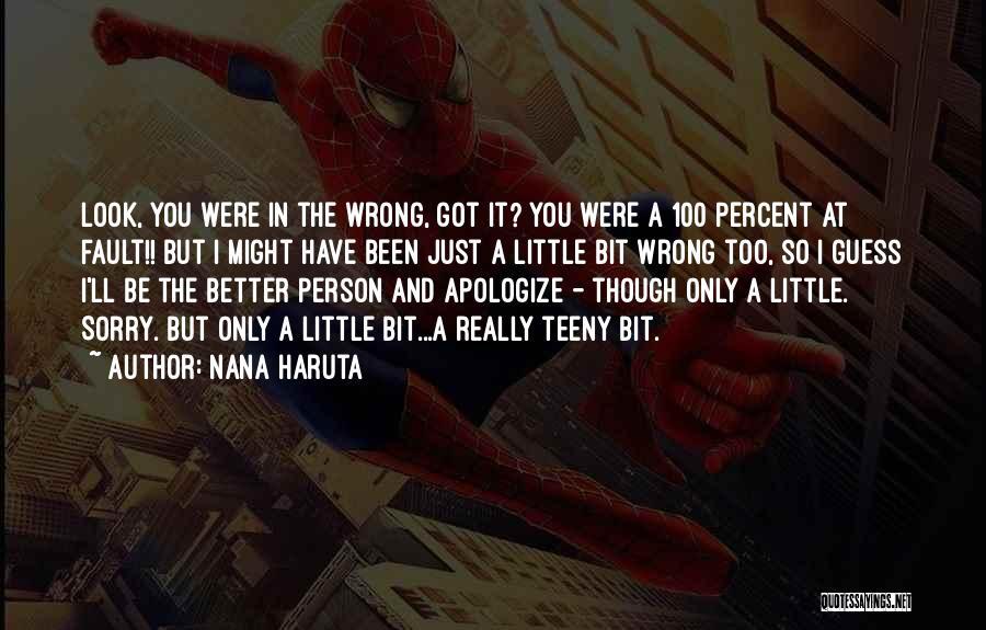 Best Nana Quotes By Nana Haruta