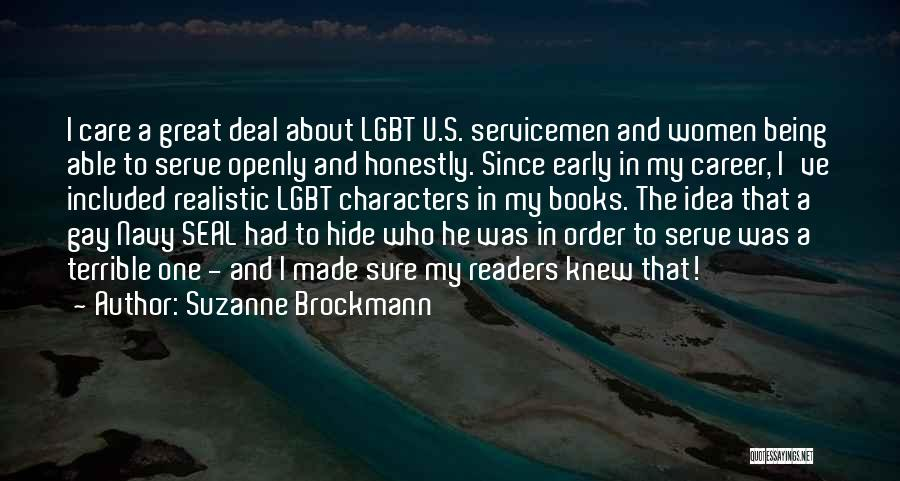 Best Navy Seal Quotes By Suzanne Brockmann