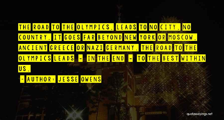 Best Olympics Quotes By Jesse Owens