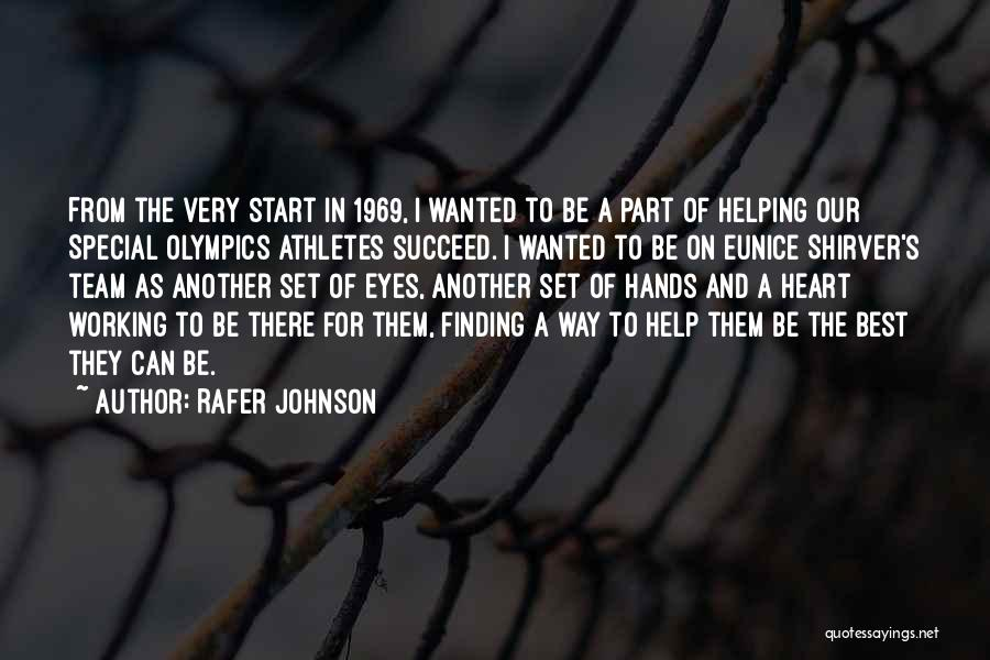 Best Olympics Quotes By Rafer Johnson
