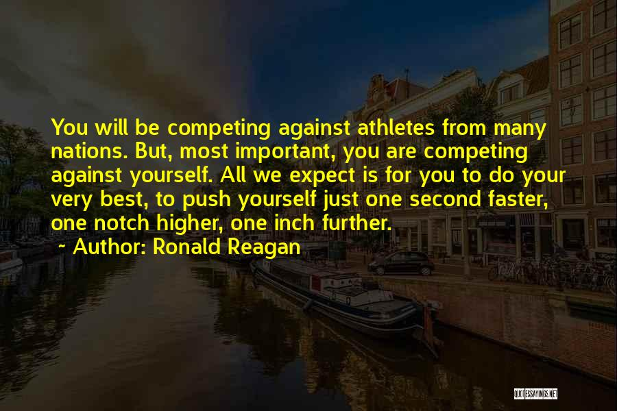 Best Olympics Quotes By Ronald Reagan
