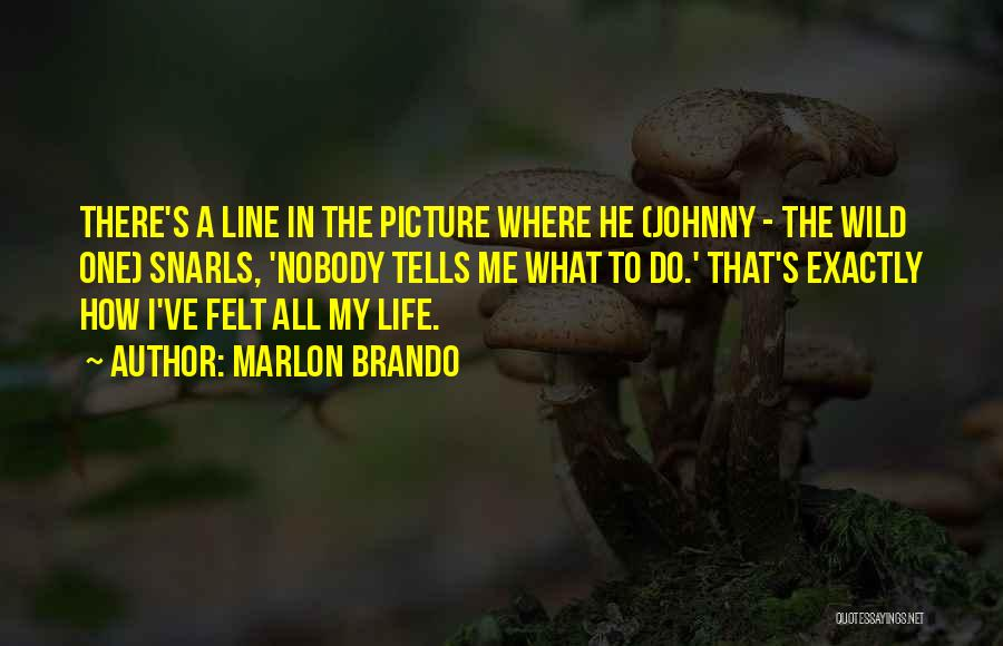 Best One Line Life Quotes By Marlon Brando