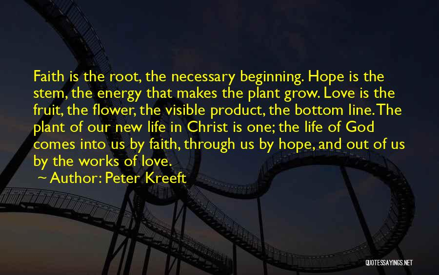 Best One Line Life Quotes By Peter Kreeft
