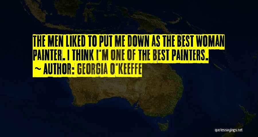 Best Painter Quotes By Georgia O'Keeffe